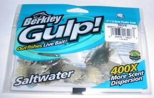 "Granchietto Berkley Gulp 1"""" colore Natural - busta 8 pz."